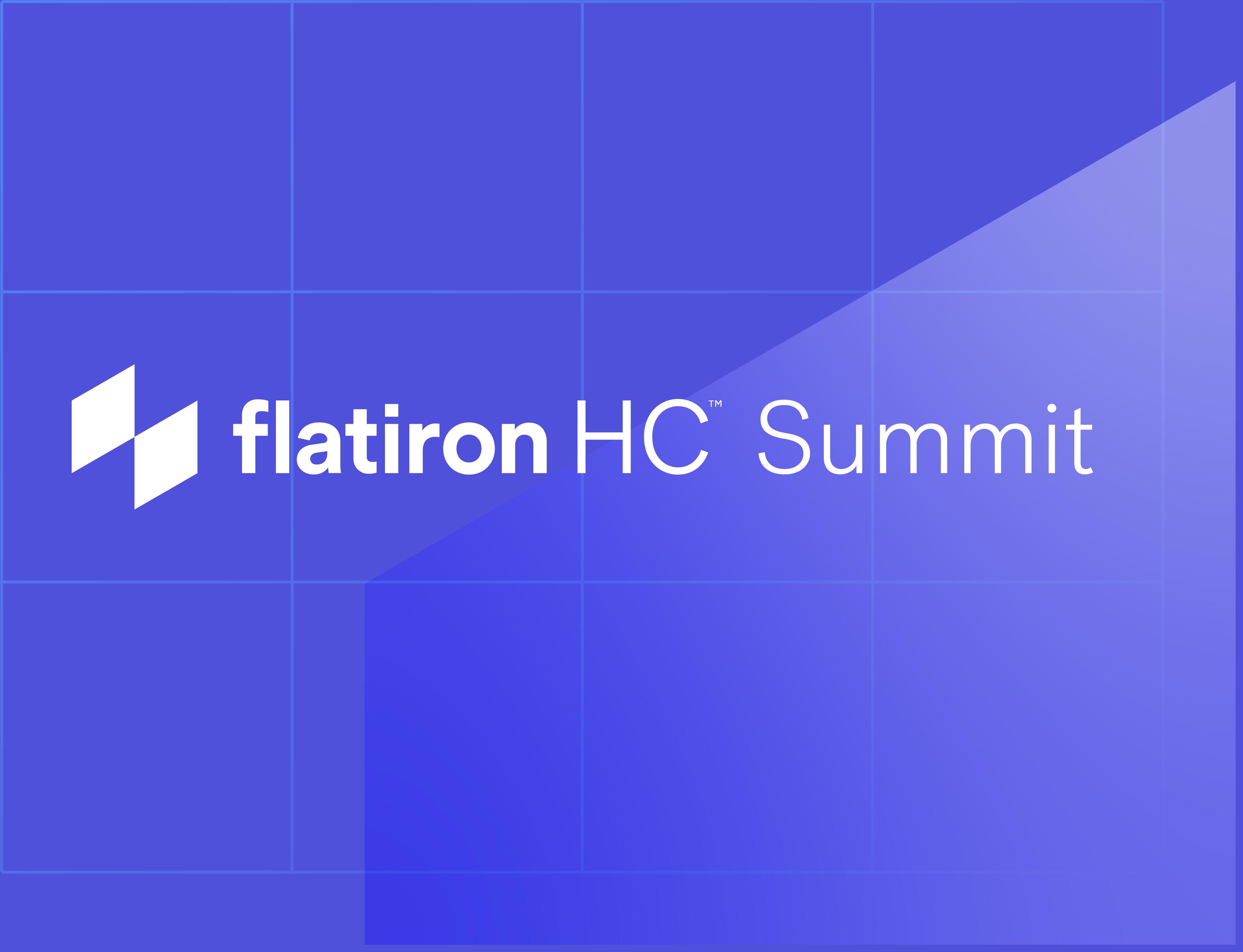 Flatiron HC Summit